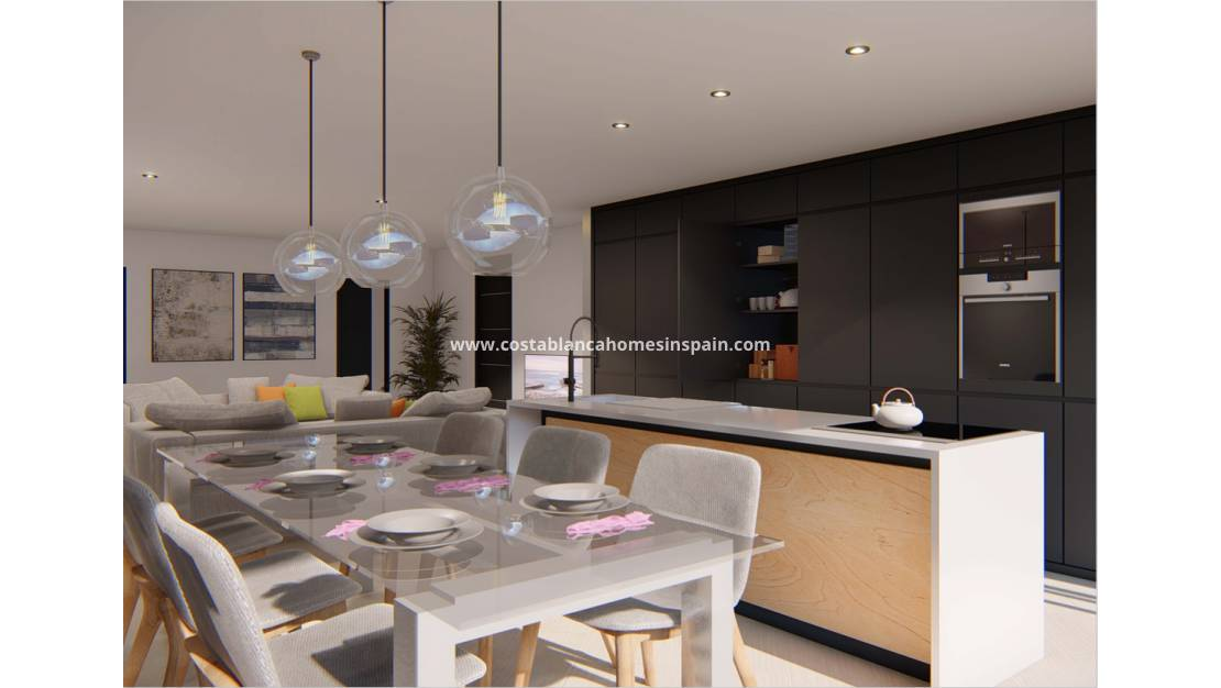 Nybygg - Apartment - Rojales
